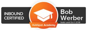 hubspot inbound certified writer